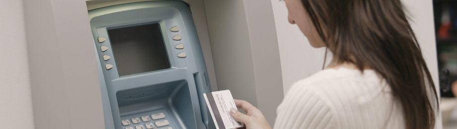 Ta ut pengar i ATM